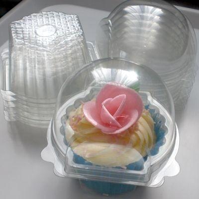 Individual cupcake domes..