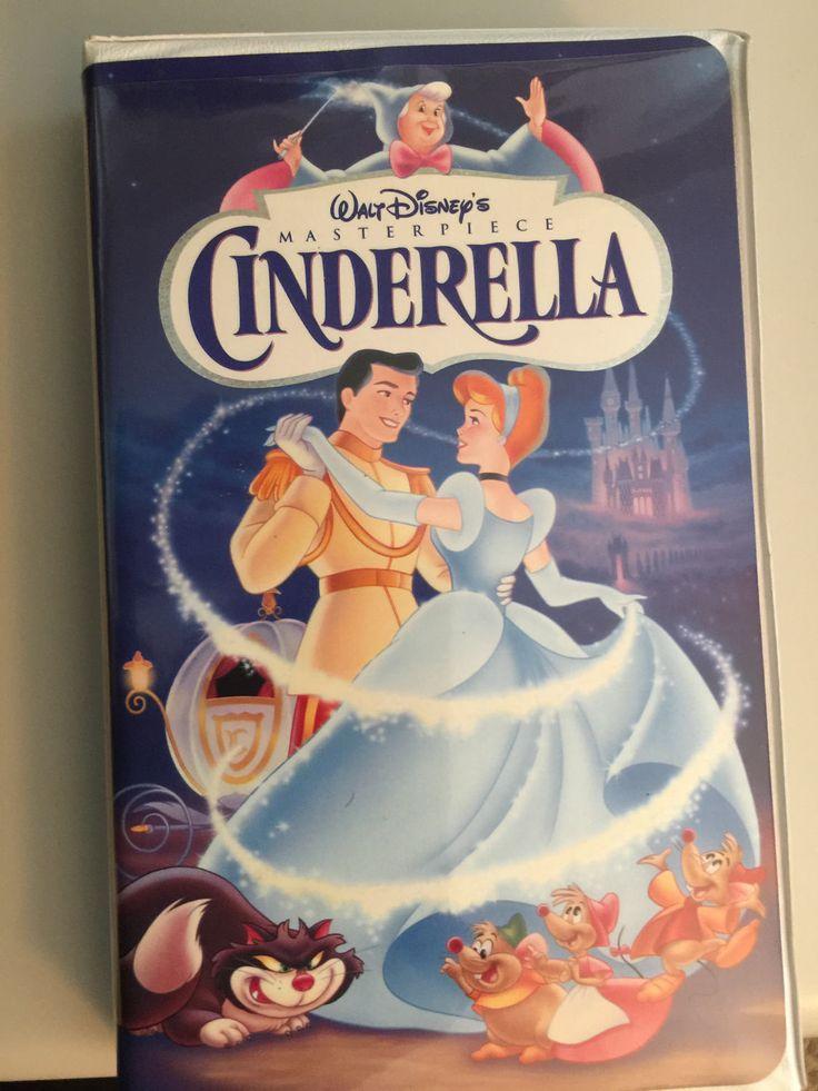 Walt Disney's MASTERPIECE Cinderella by CheapDavesBargains on Etsy https://www.etsy.com/listing/507538200/walt-disneys-masterpiece-cinderella