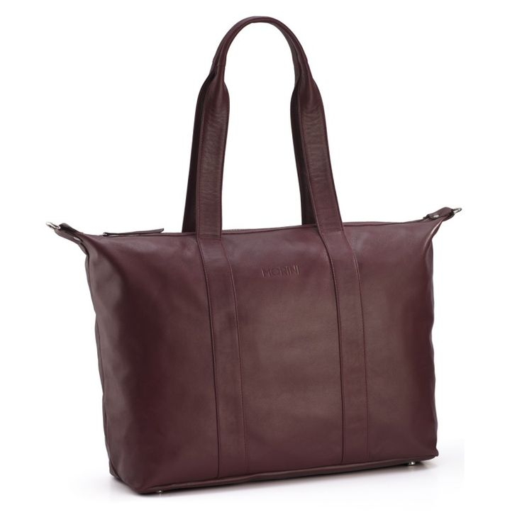 MORINI MOCO LEATHER BAG // MAROON  http://morini.pl/
