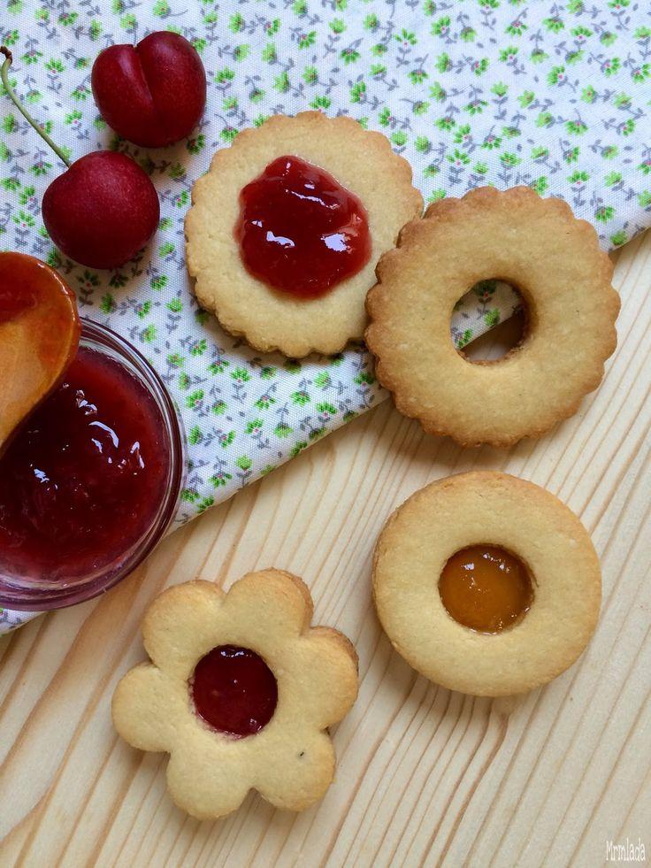 Galletas Linzer  Linzer cookies