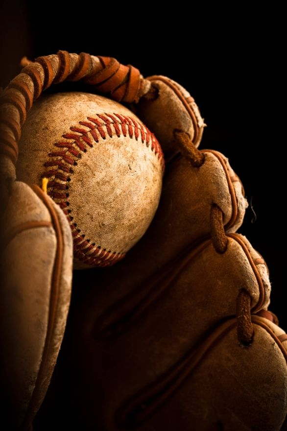 there's nothing like the feel and smell of an old baseball glove