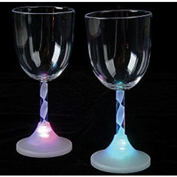 Flashing Wine Glass Bareware