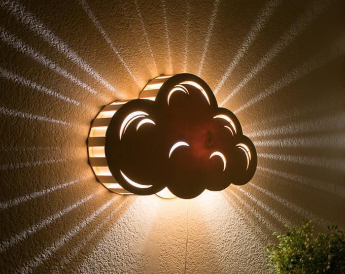 Precommande Crescent Moon Night Light Lampe De Chevet En Etsy Star Night Light Wooden Bedside Lamps Antique Lamp Shades