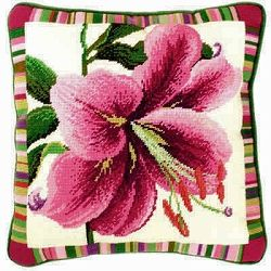 Pink Lily Tapestry Needlepoint Kit BTTF2
