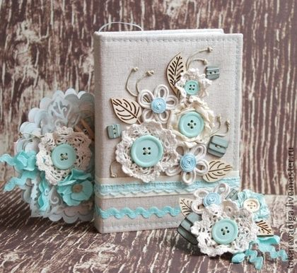 Блокноты ручной работы. Ярмарка Мастеров - ручная работа Блокнот в комплекте с текстильной брошью и открыткой  «Танец цветов». Handmade.