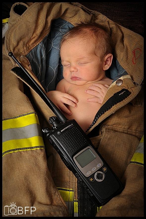 firefighter baby, what mine will look like! :)