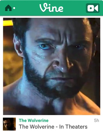 """Big Moment For Vine As First Wolverine Movie Footage Comes Via 6-Second """"Tweaser"""" Instead OfTrailer"""