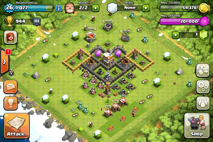 Best Design For Town Hall Level