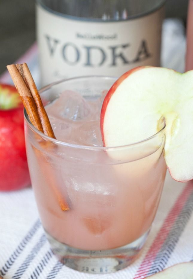 Whip up a Homemade Apple Cider Cocktail for Halloween.