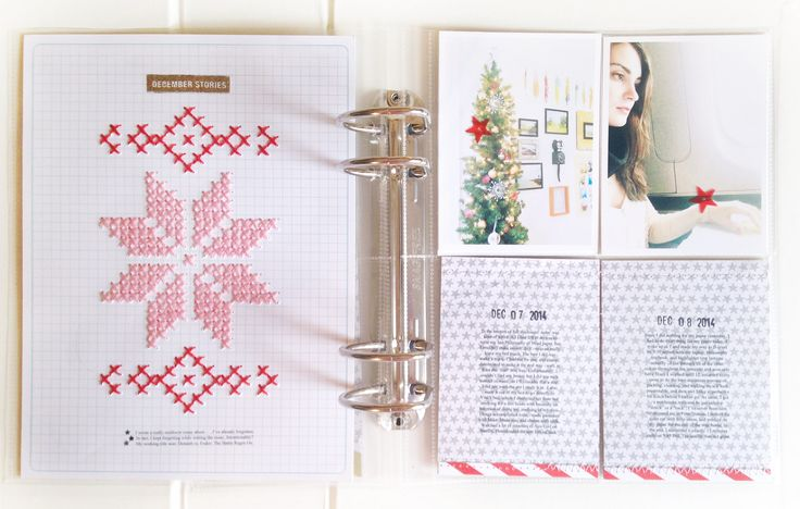 Alexa + Paper: December Daily 2014, Days 6 - 11 - have downloaded crosstitch pattern