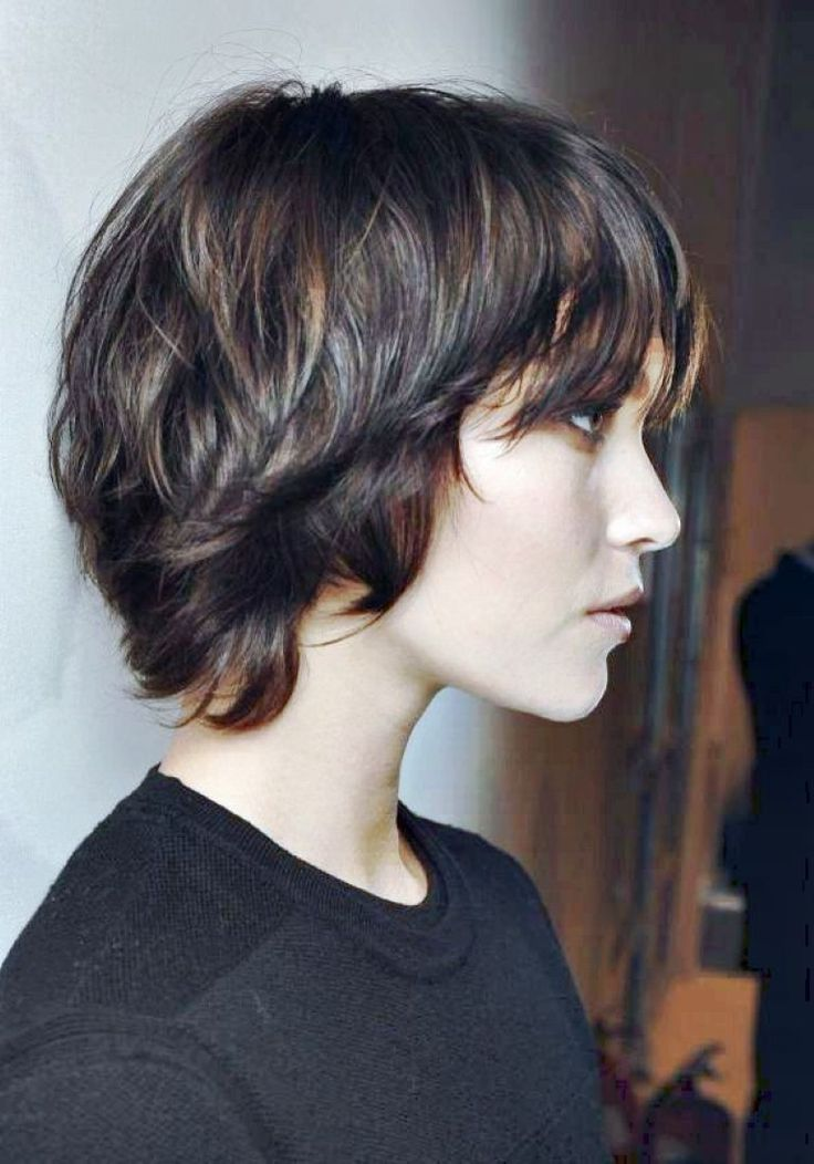 short haircut with long bangs 1000 ideas about pixie hairstyles on 2090 | d803ed7903d3fe4ba134eaaffdb4f288