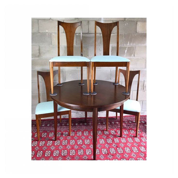 Mid Century Modern Broyhill Premier Dining Set By HautelAudubon On Etsy  Https://www