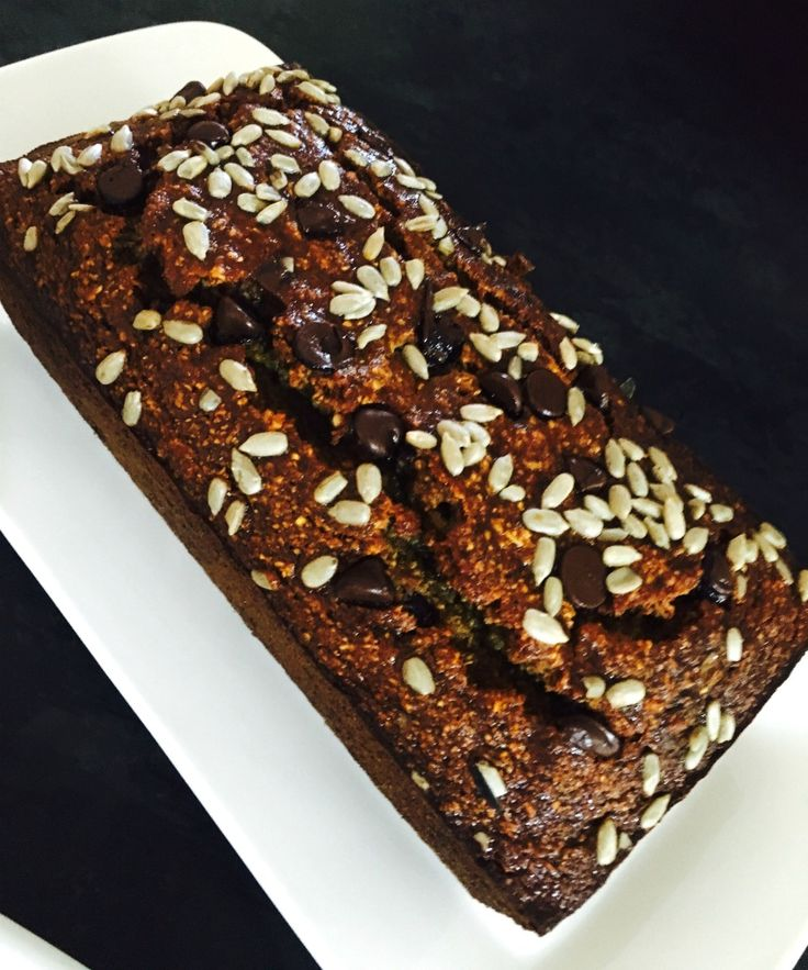 This Big Batch Banana Bread makes 12 pieces so it's great to bake when you have friends coming over. Just 150 calories per slice.