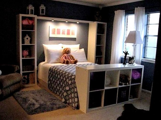 Kids Bedroom Furniture Interior Design For Small Space Homivo Small Bedroom Hacks Small Room Design Small Room Decor