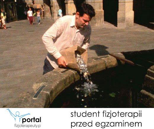 Student fizjoterapii przed egzaminem :) http://fizjoterapeuty.pl/ #humor #studia #student #fizjoterapia #nauka