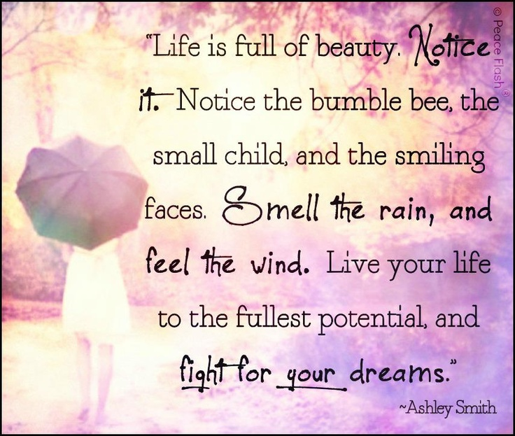 Love Quotes About Life: Live Your Life To The Fullest...