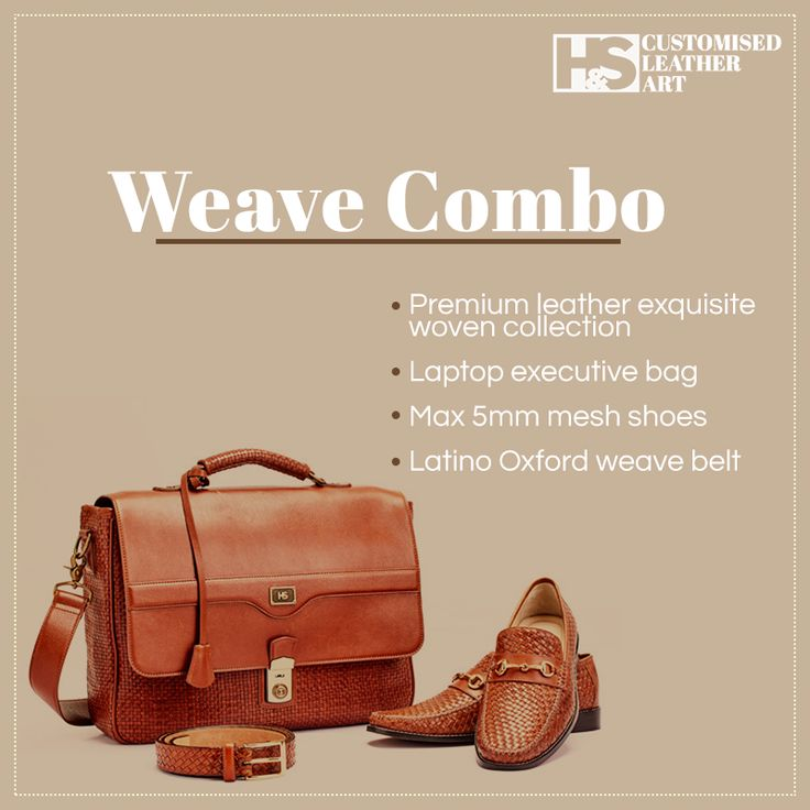 Accessories for the top notch executive! https://hnscraftsmanship.com/collections/weave-combo.html #hnscraftsmanship #leather #leatherart #leathercraft #customizedleather #leathershop #luxurygoods