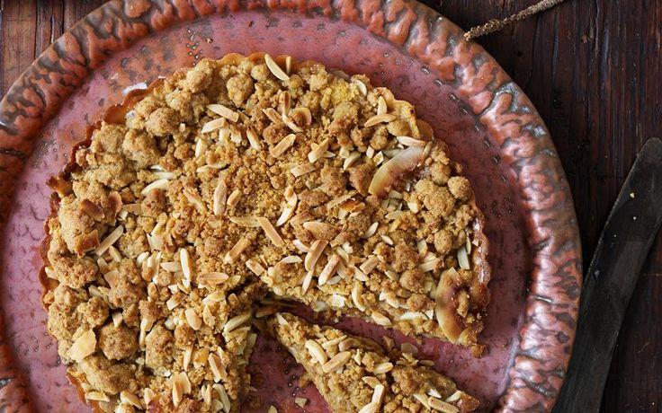 Feijoa streusel tart recipe - 15488 | Food To Love