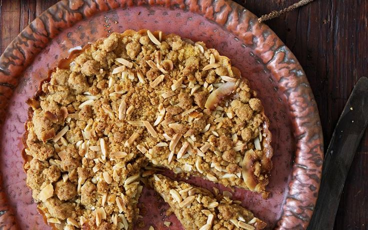 Feijoa streusel tart recipe - 15488 | Food To Love