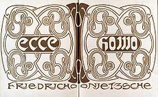 Ecce Homo (book) - Wikipedia