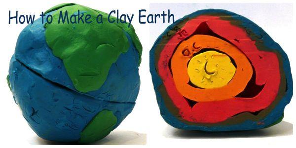 CLUB DE IDEAS | Capas de la Tierra con plastilina ~ La Eduteca