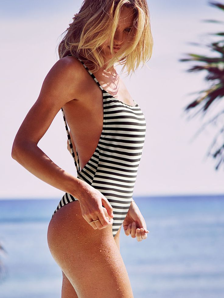 Low-back One-piece - Forever Sexy - Victoria's Secret : I want this swimsuit! Small or Medium is the question.