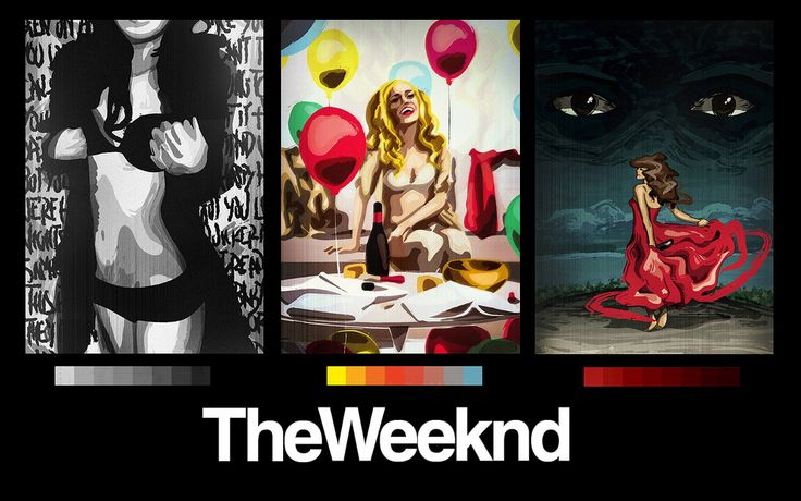 The Weeknd wallpaper