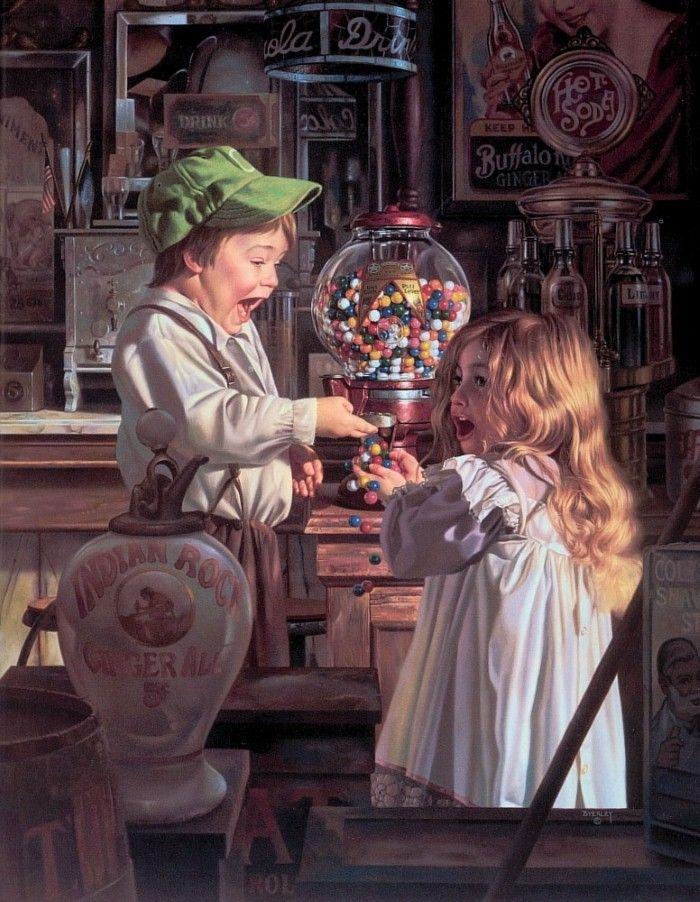 Детские картины. Bob Byerley