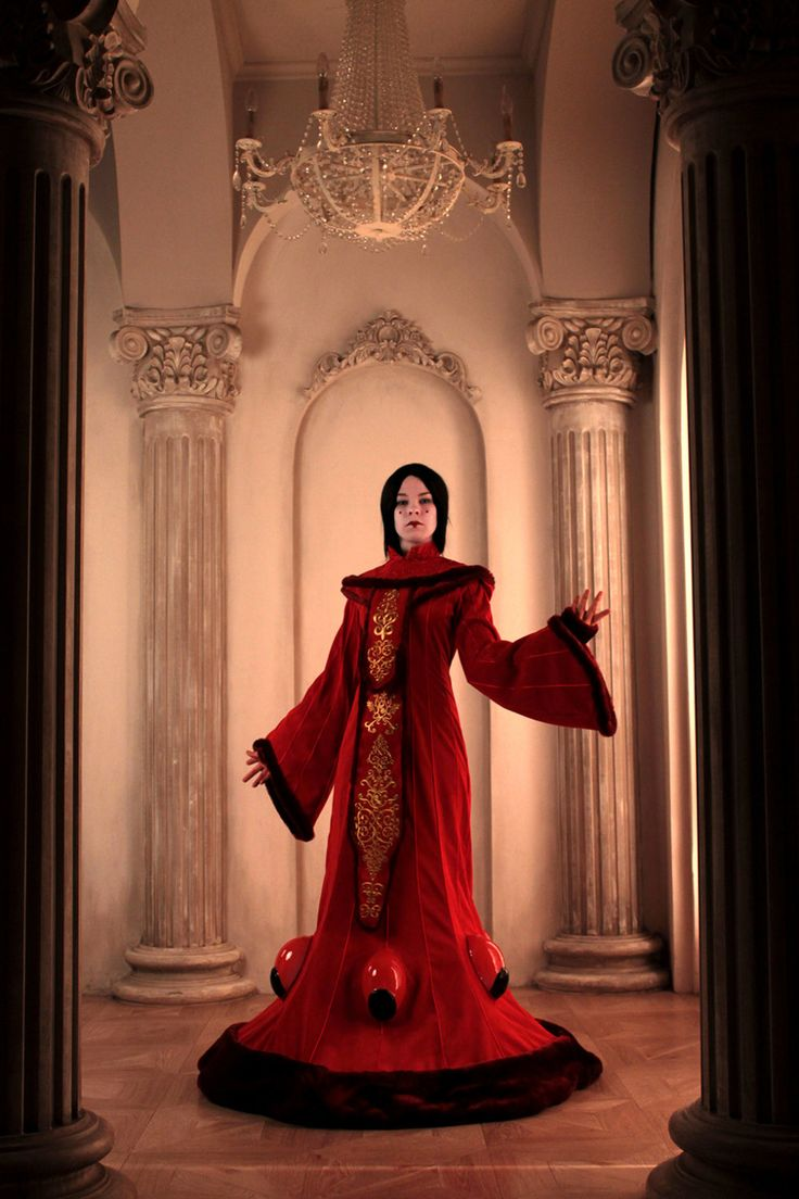 Queen Padme Amidala Costume cosplay Star Wars FREE SHIPPING by PhoenixCardinal on Etsy