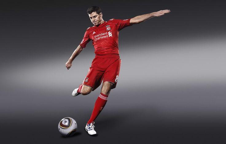 Steven Gerrard- Liverpool Football Club #Photography #SportsPhotography #SimonDervillerPhotography #LiverpoolFootballClub #Sports #Football #Adidas