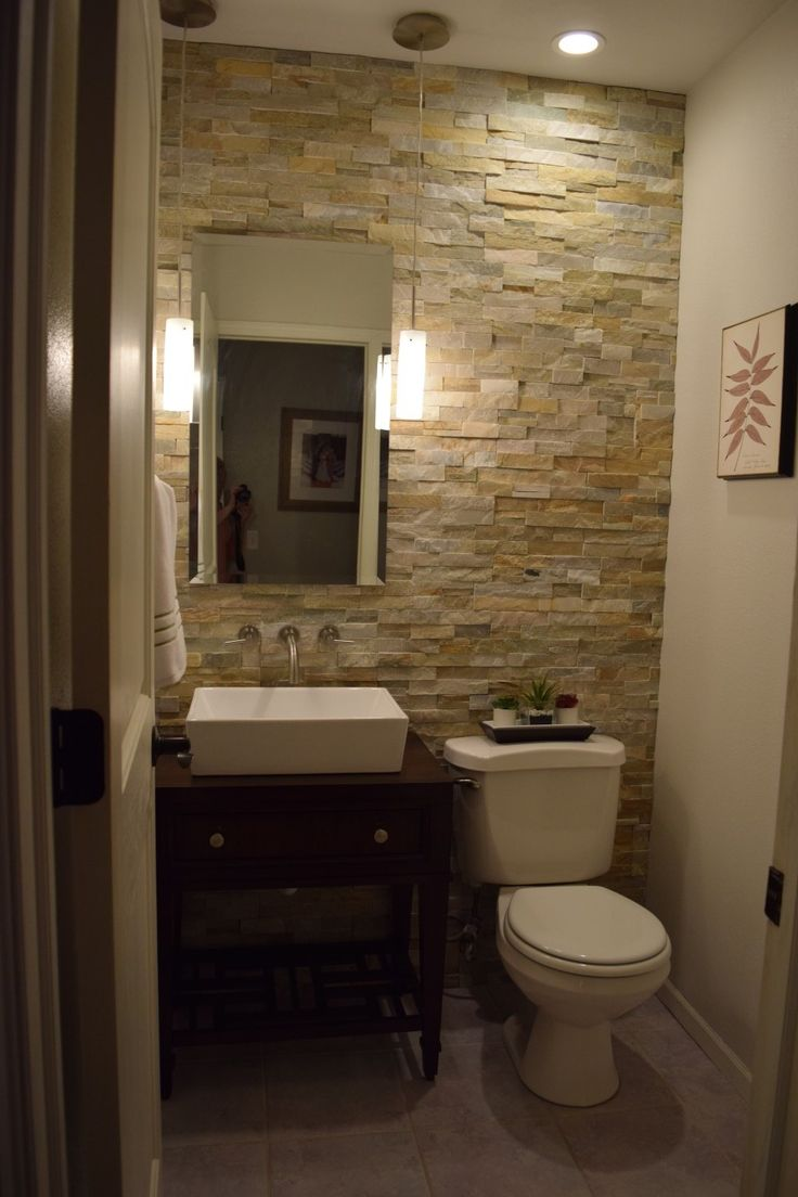 Houzz half bathroom - Our Article Feature For The Bathroom Remodel Came Out On Houzz Com Today