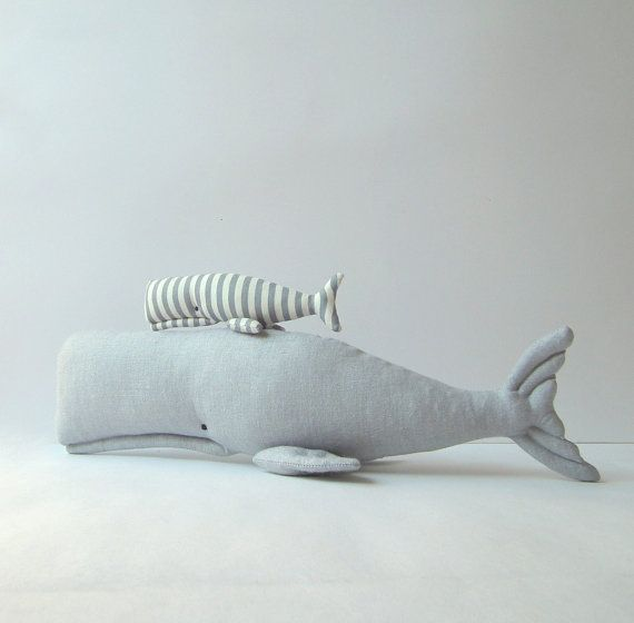 Hey, I found this really awesome Etsy listing at https://www.etsy.com/listing/169210497/stuffed-whales-plush-grey-whales-toys