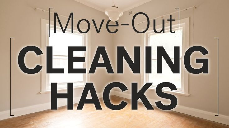 Make sure you get as much of your security deposit back as possible when you move out of your apartment. Try these 8 hacks to clean and de-grime.