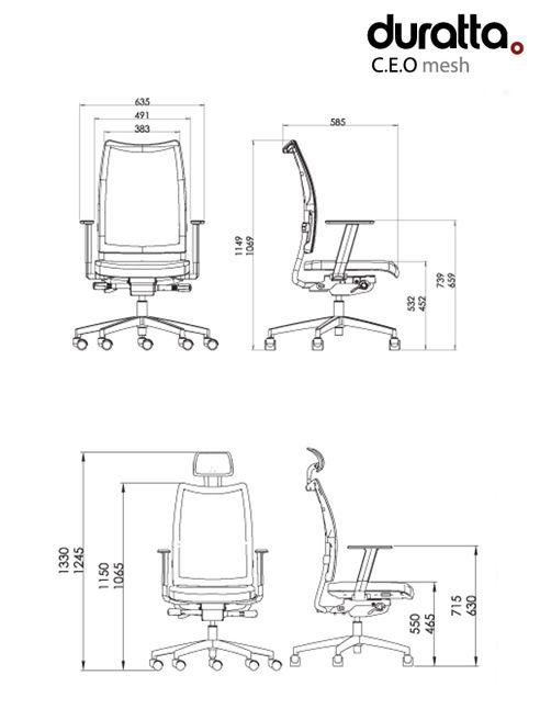 altura assento cadeira - Pesquisa Google