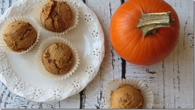 3 IMG 6850 thumb Simple TWO Ingredient Pumpkin Muffins