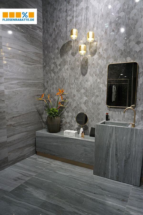 Fliesen Marmor Marmoroptik Marble Bathroom Bad Badezimmer
