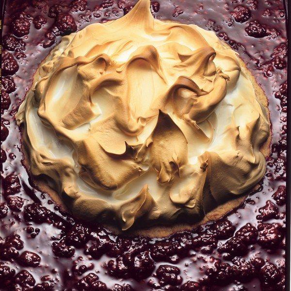 Lemon Meringue Pie with Graham Crust