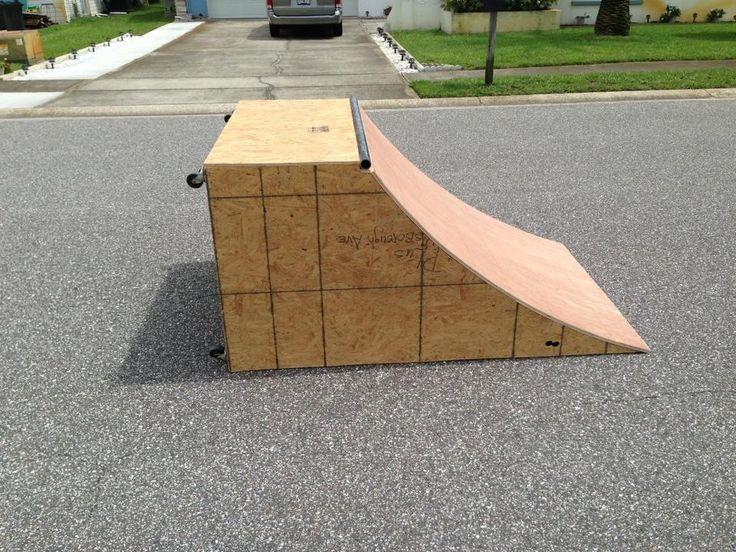 25 best ideas about skateboard ramps on pinterest for Skateboard chair plans