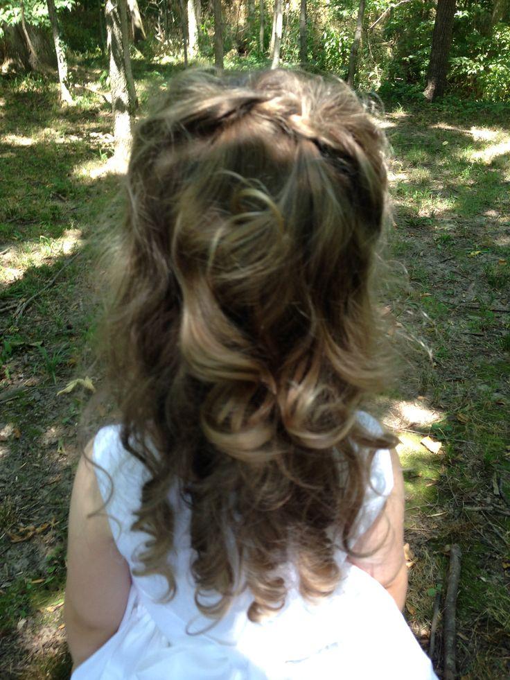 Wedding Hair Toddler Curls