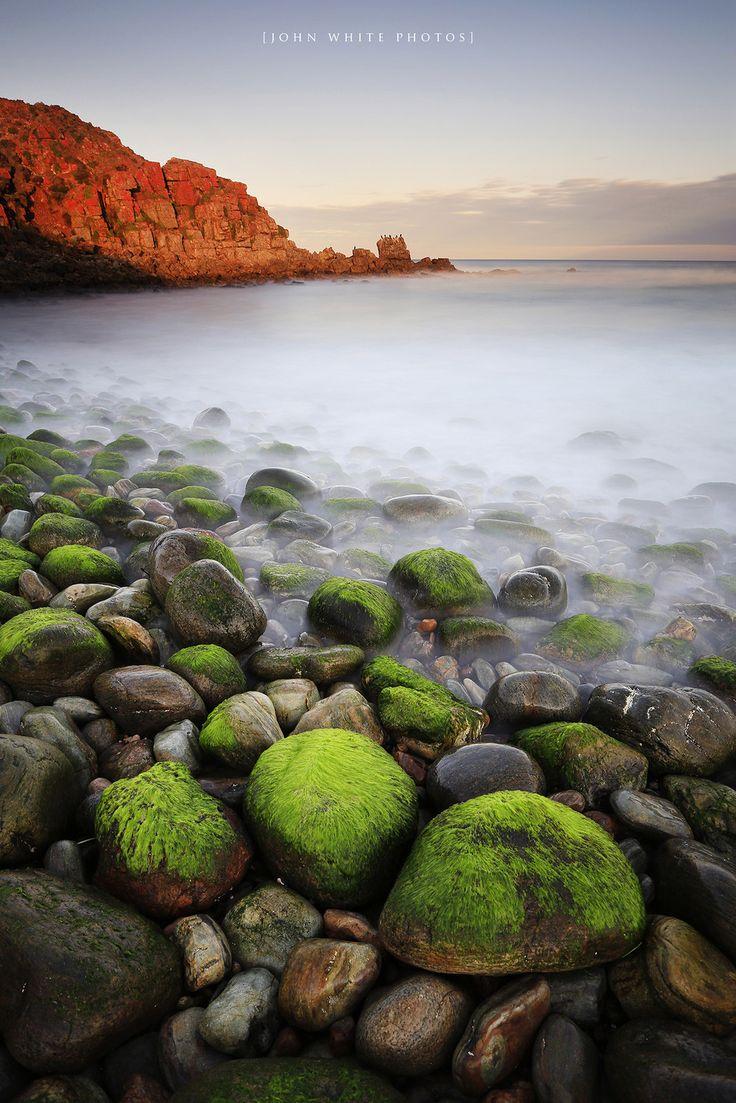 Sleaford Bay on de Eyre Peninsula in South Australia