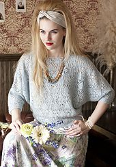 Ravelry: #21 Lace Batwing Top pattern by Brooke Nico