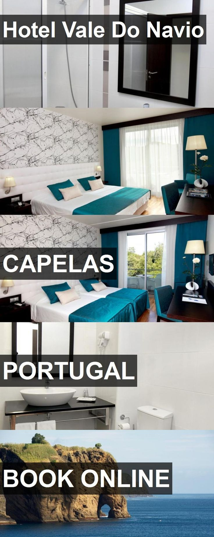 Hotel Vale Do Navio in Capelas, Portugal. For more information, photos, reviews and best prices please follow the link. #Portugal #Capelas #travel #vacation #hotel