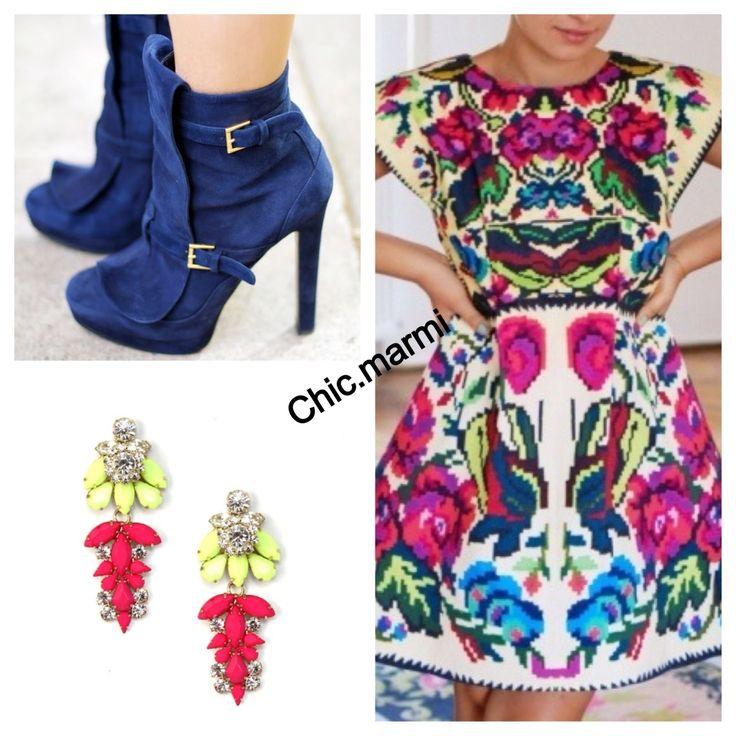 perfect outfit vestido mexicano en