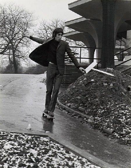 Pete Townsend. Skateboarding.