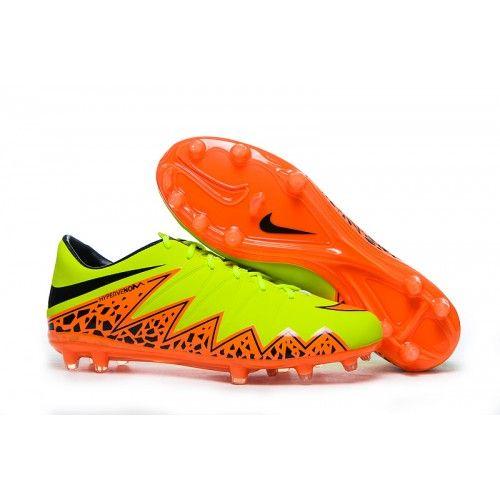 772549d616 Comprar Chuteira Campo Nike Hypervenom Phelon FG Neymar Homens Fluorescent  Verdes Laranja