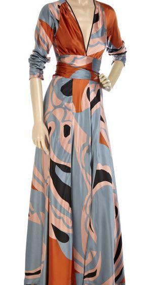 Ossie Clark Silk Dress 1a Graphic