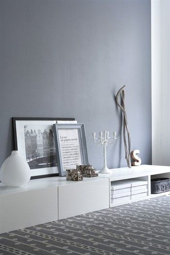 Grau und weiß  - sehr Edel!