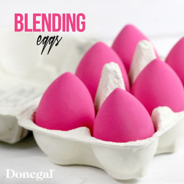 Idealny makijaż z Blending Sponge by Donegal. #makeup#pink#