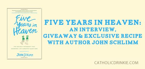 [On the Blog]: Five Years in Heaven: An Interview, Giveaway & Exclusive Recipe
