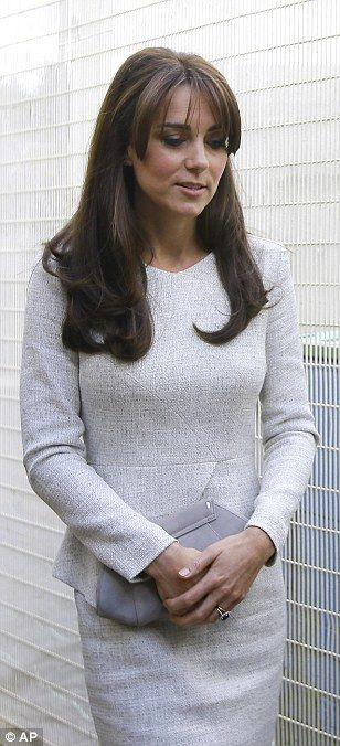 Prisoner Cell Block HRH: Kate makes secret visit to women's jail to meet inmates battling alcohol and drug addiction.: